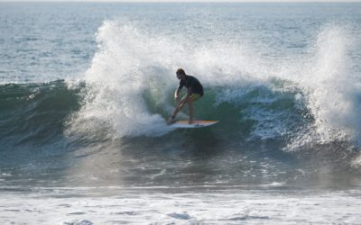 Surf au Salvador⎜Le pays des pointbreaks en droite