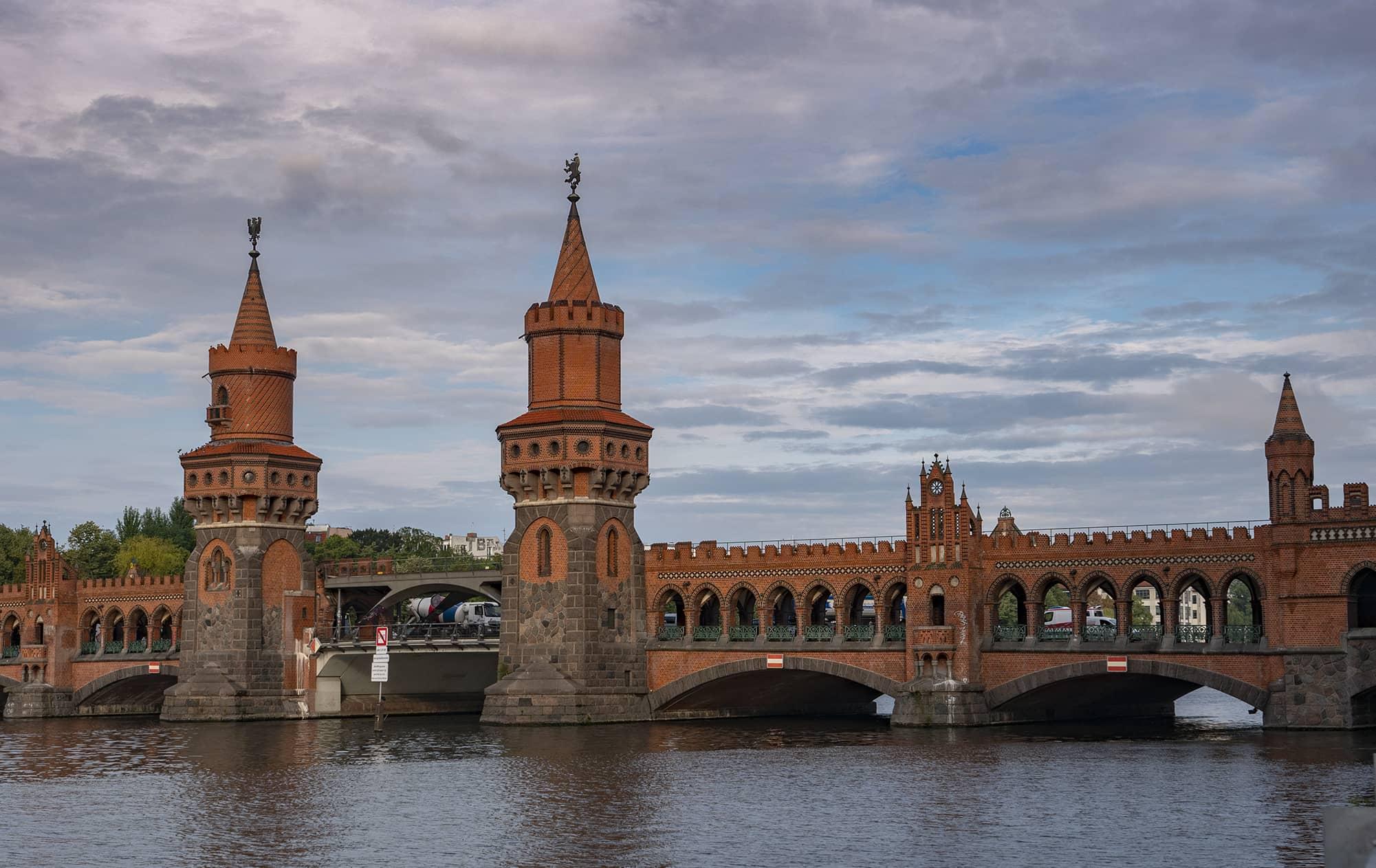 Oberbaumbrücke Berlin Pont