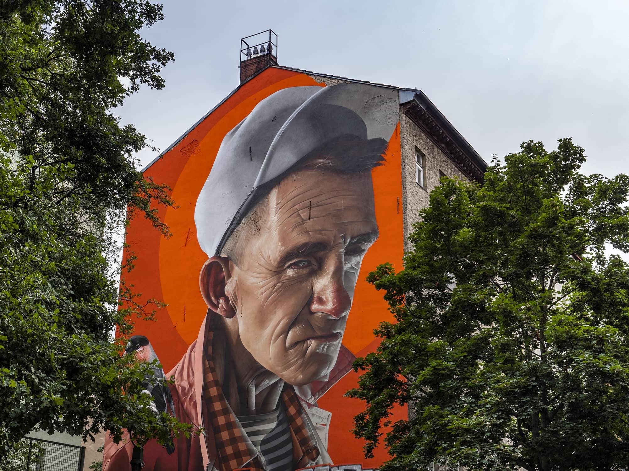 Smug One streetart Berlin