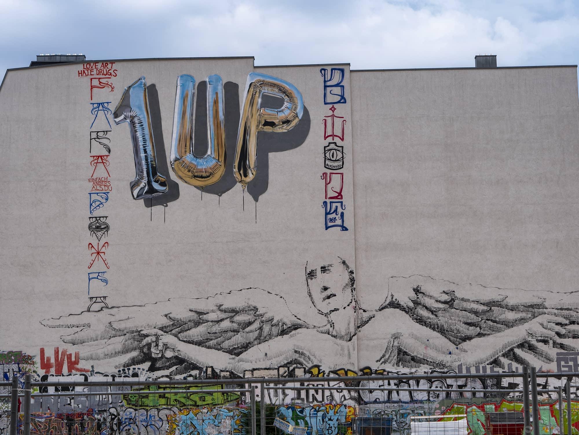 1UP streetart Berlin